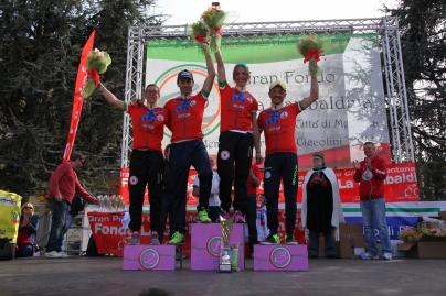 Garibaldina 2016 i quattro vincitori Marzano, Pezzano, Cesaro e Cairo