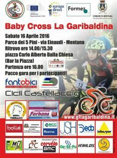 Locandina Baby Cross Garibaldina 2016