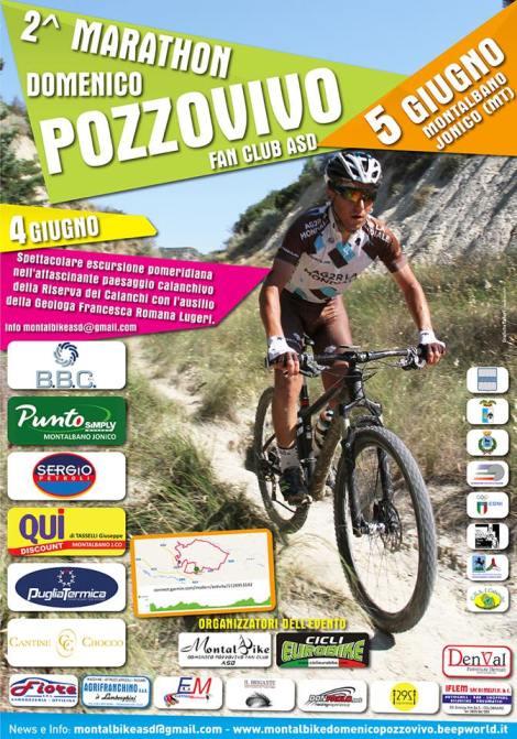 Locandina 2016 Marathon Domenico Pozzovivo