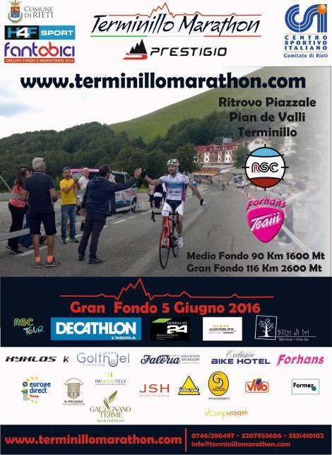 Locandina Terminillo Marathon 05062016