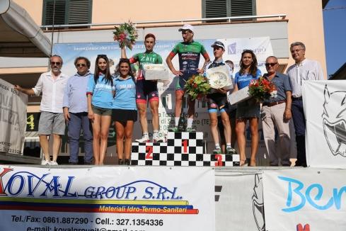 Memorial Morgan Capretta 2016 podio locatelli-milani-garosio