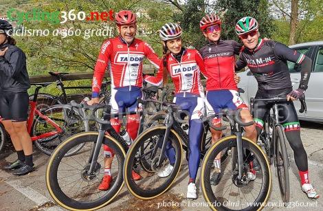 Francesco Casagrande, Silvia Scipioni, Elena Gaddoni e Leonardo Olmi test Venge S-Works 2019
