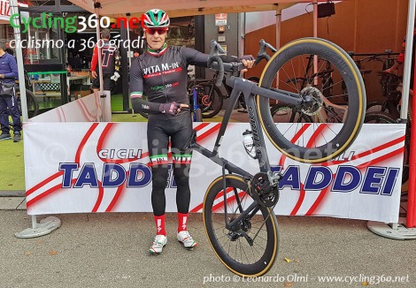 Leonardo Olmi test Specialized Venge S-Works 2019