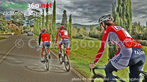 Silvia Scipioni, Francesco Casagrande ed Elena Gaddoni, test Venge S-Works 2019